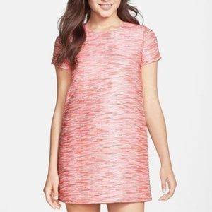 """CECE BY CYNTHIA STEFFE"" PINK JACQUARD DRESS"